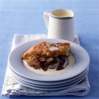 Baked Apple and Almond Pudding