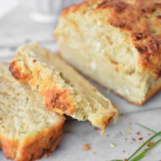 Goat Cheese and Chive Beer Bread