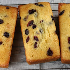 Lemon- Cranberry Mini Loaves
