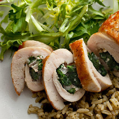 Chicken Stuffed with Spinach and Feta