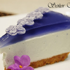 Violet Candy Cheesecake