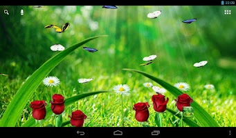 Screenshot of Summer Garden Live Wallpaper