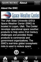 Screenshot of Space WX