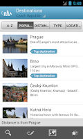 Screenshot of Czech Republic by Triposo