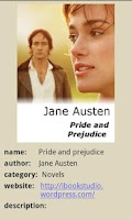 Screenshot of Pride and Prejudice FREE