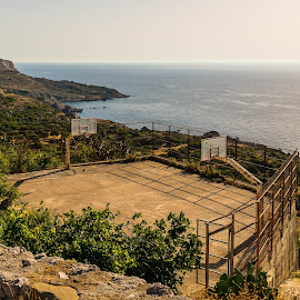 Basket with nice view by Dan Westtorp - Sports & Fitness Basketball