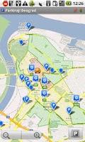 Screenshot of Parkiraj Beograd PS