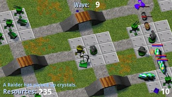 Screenshot of Tower Raiders GOLD