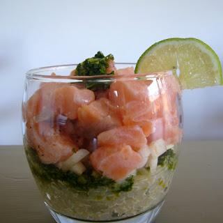 Salmon Pesto Appetizer Recipes