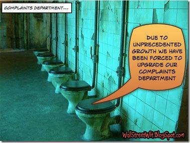 Complaints >> /dev/null
