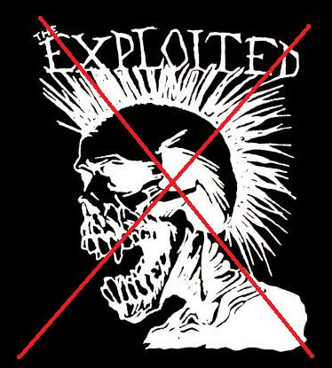 Banda, The Exploited, Son Nazi Punks.