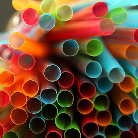 colourful tubes by Almas Bavcic - Artistic Objects Other Objects