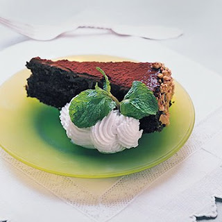 Chocolate Torte with Passover Fudge Glaze