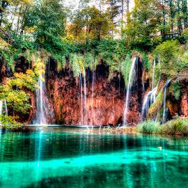 Plitvice lakes 2 by Hrvoje Kunović - Landscapes Waterscapes ( plitvice, waterscape, lakes, croatia, landscape )