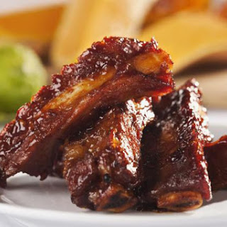 Sweet and Sour Spareribs with Crushed Pineapple