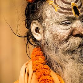 Varanasi by Sanjay Bishnoi - People Portraits of Men ( #baba #varanasi #portraits #ganga #kashi )