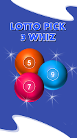 Screenshot of Lotto Pick 3 Whiz
