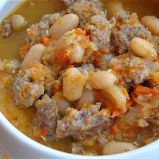 Tuscan Sausage and Bean Soup