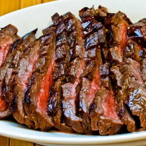Ginger Soy Marinated Flank Steak Rezept   Yummly