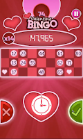 Screenshot of Valentines Bingo: FREE BINGO