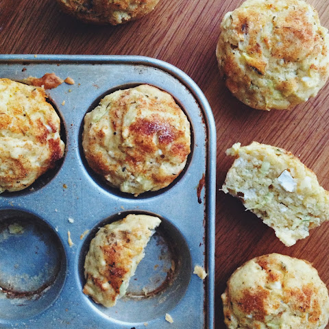 Feta and Jalapeño Corn Muffins