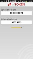 Screenshot of e-Građani mToken