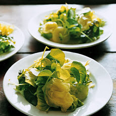 Green Salad with Mustard Dressing