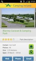 Screenshot of Camping Ireland