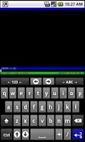 Screenshot of SSH for AnySoftKeyboard