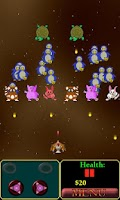 Screenshot of Cute Invaders