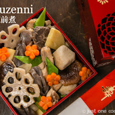 Chikuzenni (Simmered Chicken and Vegetables)