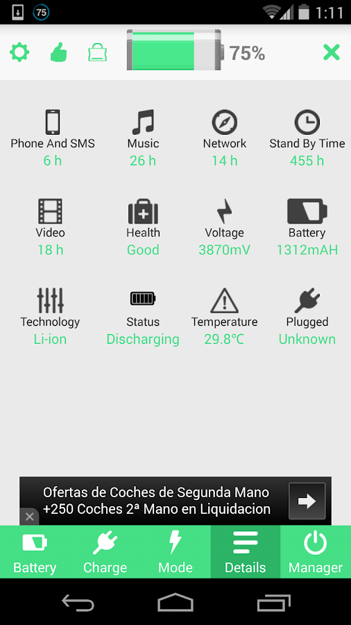 Battery Saver HD Screenshot 4