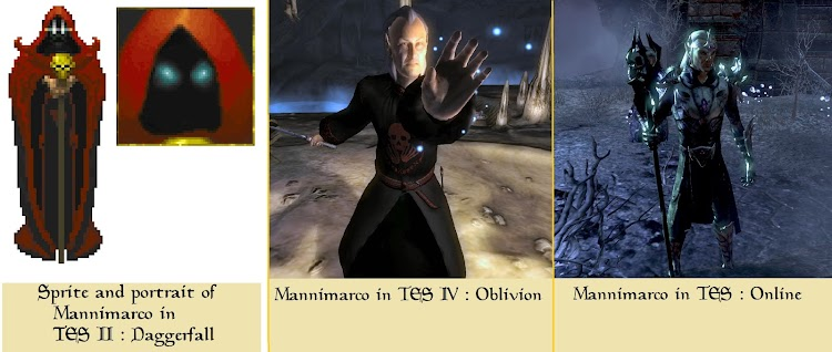 Fan catalogues all the recurring characters in The Elder Scrolls series