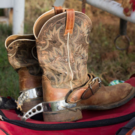 Lucky Boots by Rhonda Leach - Artistic Objects Clothing & Accessories