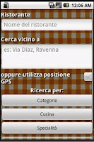Screenshot of Ristoranti Ravenna