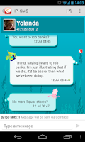 Screenshot of IP-SMS - cheap text messages