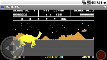 Screenshot of Mobile C64 (Lite)