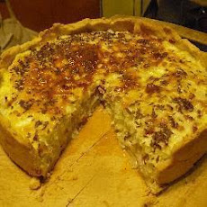 Onion and Bacon Flan