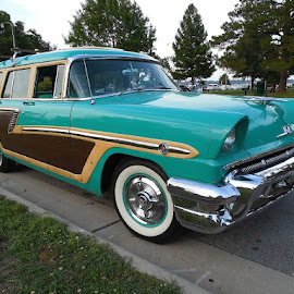 1956 Mercury Woodie Wagon by Bill Scott - Transportation Automobiles