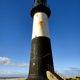 Lighthouse by Janet Rose - Novices Only Landscapes
