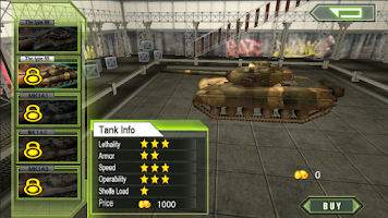 Screenshot of Crazy Fighting Tank 3D-FPS