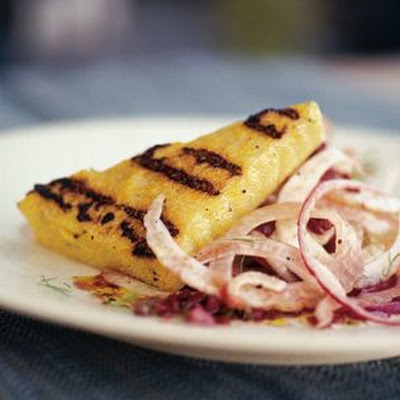 Grilled Polenta with Fennel Salad