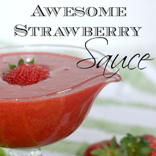 Awesome Strawberry Sauce
