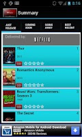 Screenshot of IWGuide for Netflix