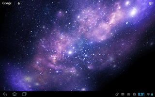 Screenshot of Galactic Core Free Wallpaper