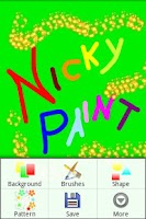 Screenshot of Nicky Paint