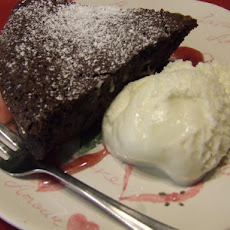 Bittersweet Flourless Chocolate Cake