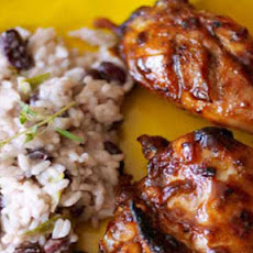 Easy jerk BBQ chicken