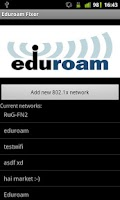 Screenshot of Eduroam Fixer