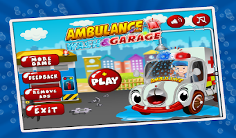 Screenshot of Ambulance Wash & Garage - cars